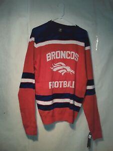 Denver Broncos  Sweater Mens Large  Officially Licensed NFL
