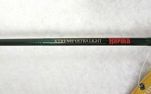 "RAPALA Spinning Rod XL40SP66UL1 XTREME ULTRA LIGHT HM40 Graphite 6'6"" NEW P56"