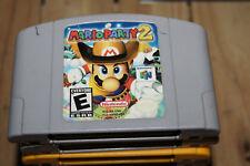 Mario Party 2 Nintendo 64 N64 Game Cartridge NINTENDO MARIO PARTY 2