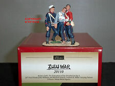 BRITAINS 20110 ZULU WAR BRITISH 24TH FOOT PRIVATE + CORPORAL CARRYING PATIENT