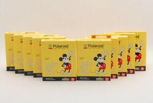 【NEW×10】Polaroid ORIGINALS Color 600 Film Mickey's 90th Anniversary Edition