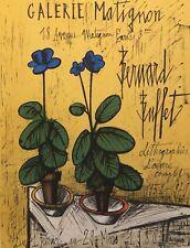 BERNARD BUFFET GALERIE MATIGNON PARIS FRANCE 1980 LITHOGRAPH POSTER MOURLOT