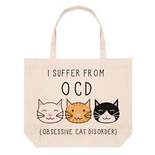 I Suffer von Obsessive Katze Störung O. C.D groß Strand Tragetasche -