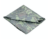 Camouflage Tarp 5 Mil Water Resistant Multi Purpose Tarps Canopy 4' x 6' USA NEW