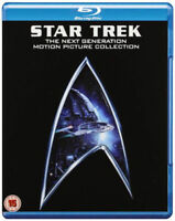 Étoile Trek - The Next Génération (4 Films) Collection Film Blu-Ray