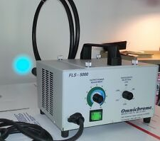 Forensic Light Source FLS 5000 Omnichrome Light With Working Light Guide Now 995