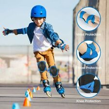 Knieschoner Kinder Protektoren für 3-8 Jahre Schutzausrüstung Skateboard Fahrrad