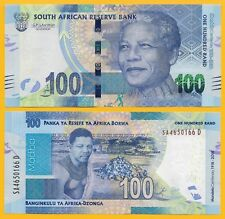 South Africa 100 Rand p-new 2018 Commemorative Nelson Mandela UNC Banknote