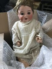 Antique ARMAND MARSEILLE DOLL 996/11 doll with weighted blue eyes,original.