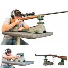 Rifle Rest Shooting Bench Duty Pistol Sighting Practice Shooters Stand Gun Range