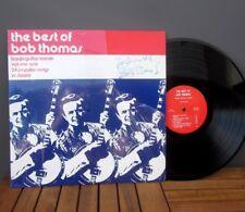 BOB THOMAS autograph LP record album 1960s signed vinyl Bluegrass banjo Slewfoot