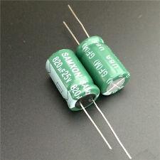 10pcs 25V 820uF 25V SAMXON GF 12.5x20mm High ripple Low Impedance capacitor