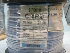 BELDEN COMMUNICATION CABLE 1000FT 1700A-006 (BLUE)
