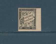 timbre France Colonies Françaises  taxe  60c noir     num: 11  neuf *