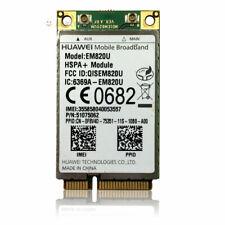 Unlocked Huawei EM820U WCDMA GSM Wireless 3G WWAN Mini PCI-E Card HSPA+ 21Mbps
