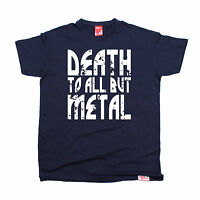 Death To All But Metal MENS Banned Member T SHIRT tee birthday music band