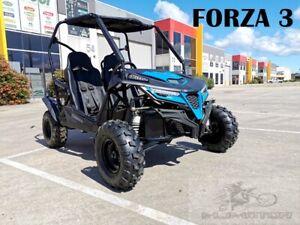 208CC 7.5HP Dune Buggy Off Road UTV ATV 2 Seater 4 Wheel Go kart Auto FORZA 3