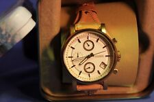 Great Looking Lady's Gold Tone chronograph  Watch  Fossil  Watch Quartz