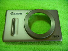 GENUINE CANON S100 FRONT CASE SILVER REPAIR PARTS
