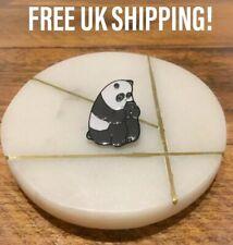 Cute Panda Bear - Reading Book Retro Enamel Pin Badge - FREE P&P - Gift - Kawaii