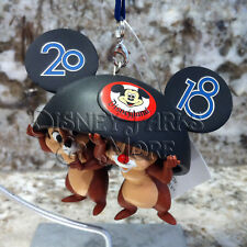 Disney Parks & Disneyland 2018 Chip 'n' Dale Mickey Mouse Club Ear Hat Ornament