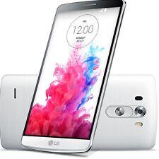 """5.5"""" LG G3 D851 débloqué 13MP Quad-core 4G LTE 32GB Smartphone GPS NFC Blanc"""