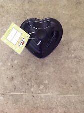 Le Creuset Pirottino blu a forma di cuore con coperchio - 0.3L - NUOVA CON ETICHETTA