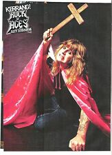 OZZY OSBOURNE is armed magazine PHOTO/Poster/clipping 11x8 inches
