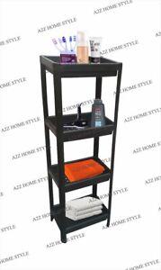 4 Tier Ikea Vesken Shelving Bathroom Caddy Storage Organiser Free Standing