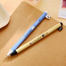 1X Briefpapier Hunde Gel Tinte Kugelschreiber  Rollerball Kugelschreiber 0.5mm W