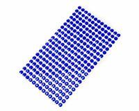 Acryl Strasssteine 750 Steine Set 3mm Aufkleber edle Schmucksteine Blau