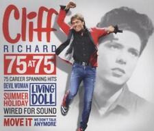 Cliff Richard - 75 At 75 - 75 Career Spanning Hits - 3 CD Box Set