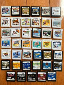 Nintendo DS 3DS Game Cartridges Pokemon Kirby Mario & Luigi Smash Bros. U PICK!