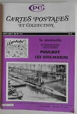 CPC Cartes Postales et Collection n°111- Léon Max Poulbot Sous-Marins Moutarde