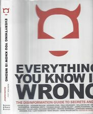 2002 CONSPIRACY THEORY CLASSIC EVERYTHING YOU KNOW IS WRONG DISINFORMATION DJ