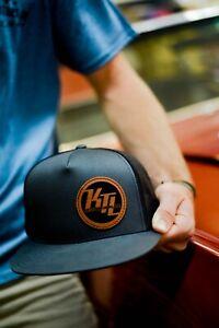 KTL Restorations Leather Patch Trucker Hat