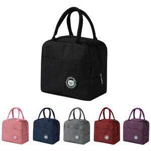 Lunch Box Bag Ice Pack Bento Box Food Container Insulation Package Thermal Bags+
