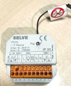 Selve i-R Receive Funk Empfänger Nachrüstung Einbindung Rolladenmotor Funksystem