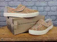 **BNIB** TOMS LADIES UK 5 EU 37.5 ALTAIR MULTICORK SLIP ON SHOES RRP £79