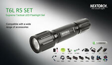 Nextorch T6LR5SET Supremo Caza Táctica Linterna LED Set
