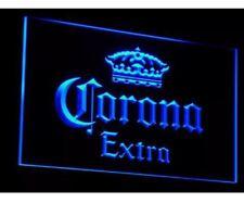 Corona Extra Beer LED Neon Light Sign Bar Club Pub Man Cave Decor Home Gift Set