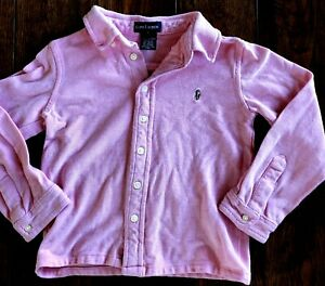 Girls Pink Shirt Size 4/5 RALPH LAUREN VINTAGE