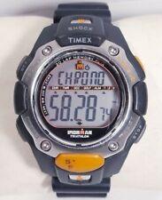 Timex Watch Ironman Triathlon Shock Resistant 30 Lap Golf Flix Resin Band 200m