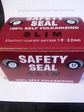 "1 Box of 60 plugs total Safety Seal SLIM Tire Plugs tire repair brown, 4"""