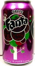 FULL New 12oz 355ml American Can Coca-Cola's Fanta Grape USA 2009