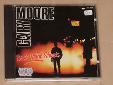 GARY MOORE -Back On The Streets- CD