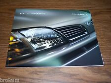 MINT 2001 OLDSMOBILE SILHOUETTE SALES BROCHURE 40 PAGES (BOX 111)