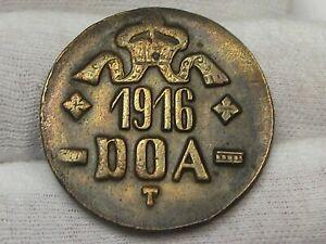 1916-T DOA (Deutsche Ost Africa) German East Africa 20 Heller.  #32