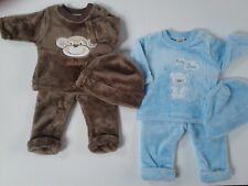 Baby boys clothes fleece three piece set 0-3 3-6 6-9 months
