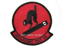 USAF Air Force Black Ops Area 51 413th Flight Test Squadron Bomb Cats Patch New